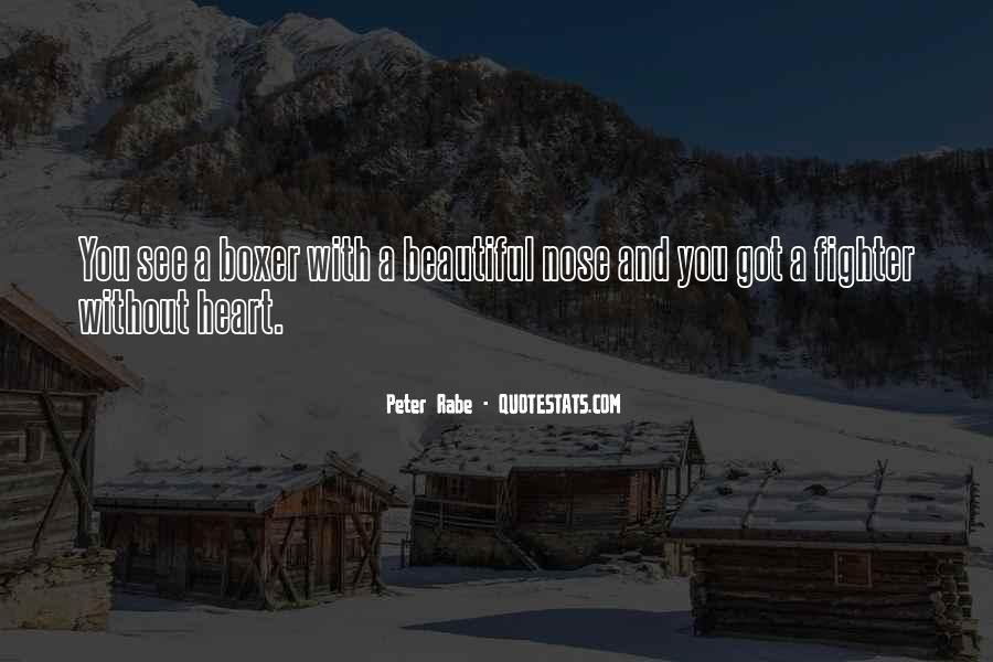 Peter Rabe Quotes #1455489