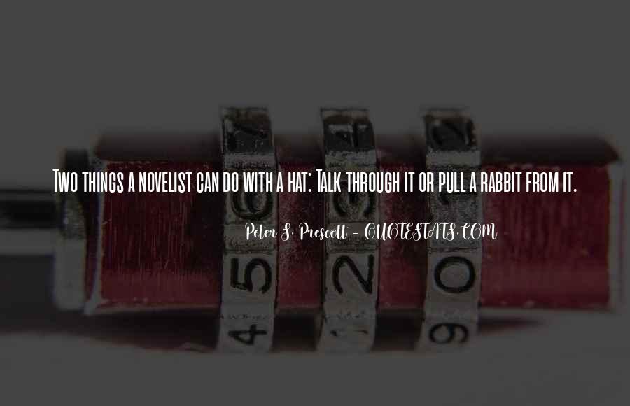 Peter S. Prescott Quotes #1769564