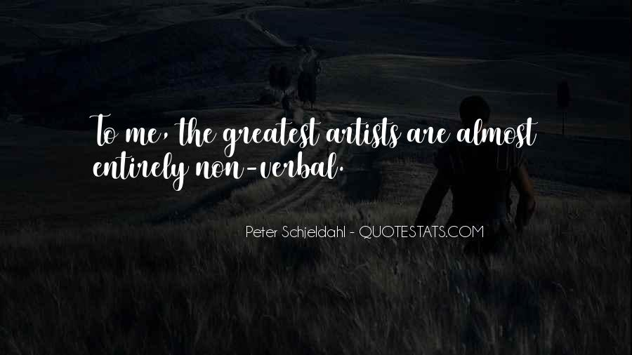 Peter Schjeldahl Quotes #1098488