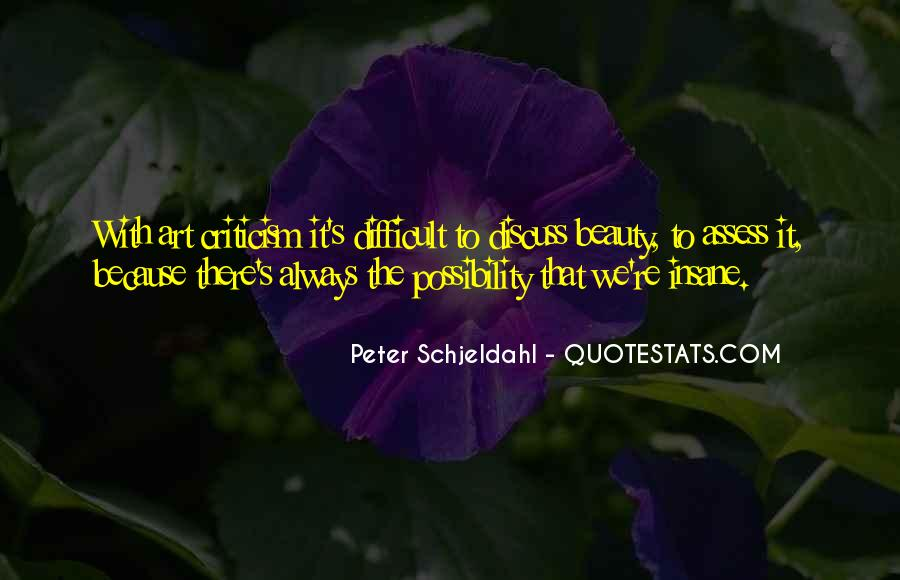Peter Schjeldahl Quotes #1647263