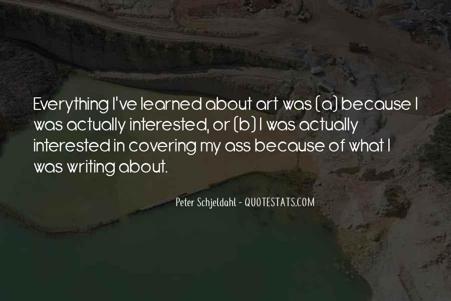 Peter Schjeldahl Quotes #748926