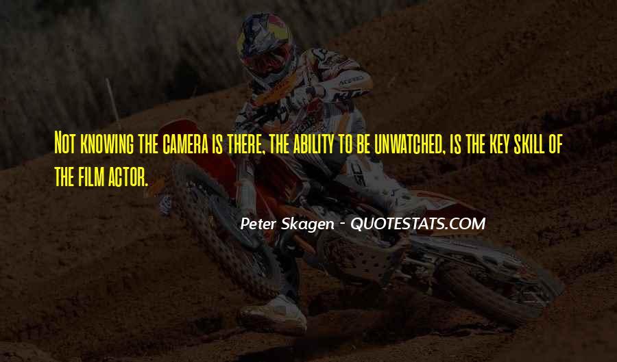 Peter Skagen Quotes #1843251