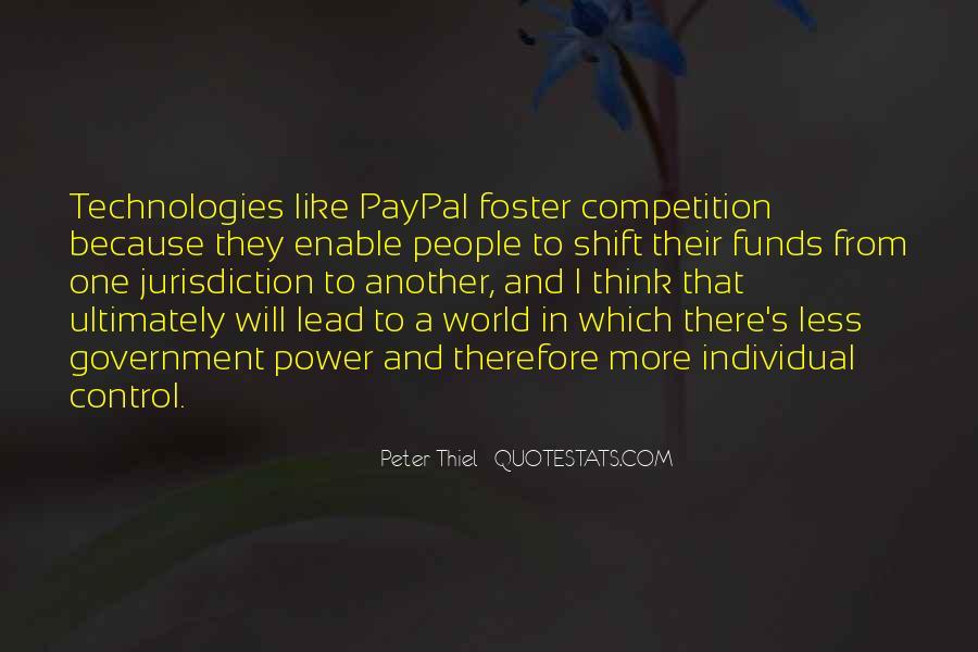 Peter Thiel Quotes #1553776