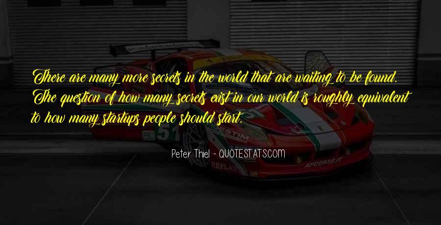 Peter Thiel Quotes #1579316