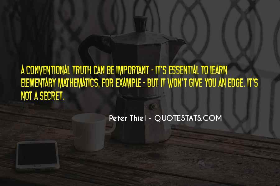 Peter Thiel Quotes #1748006