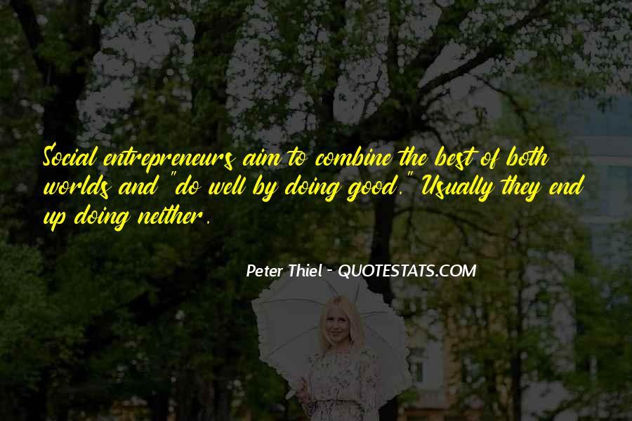 Peter Thiel Quotes #24394