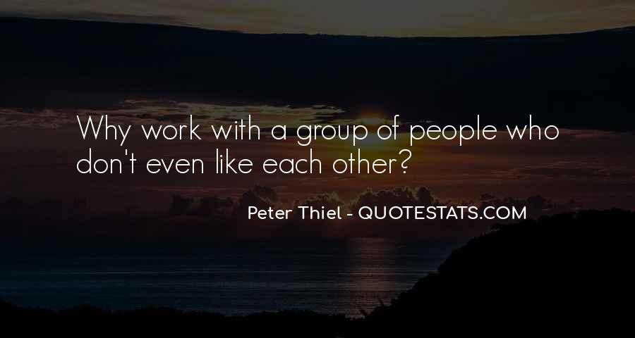 Peter Thiel Quotes #343025