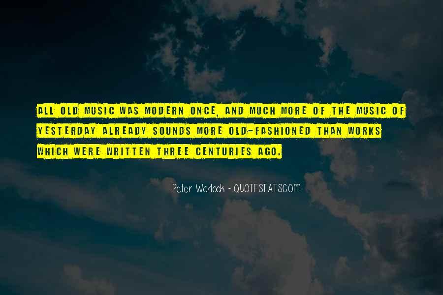 Peter Warlock Quotes #1490603