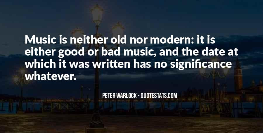 Peter Warlock Quotes #1639098