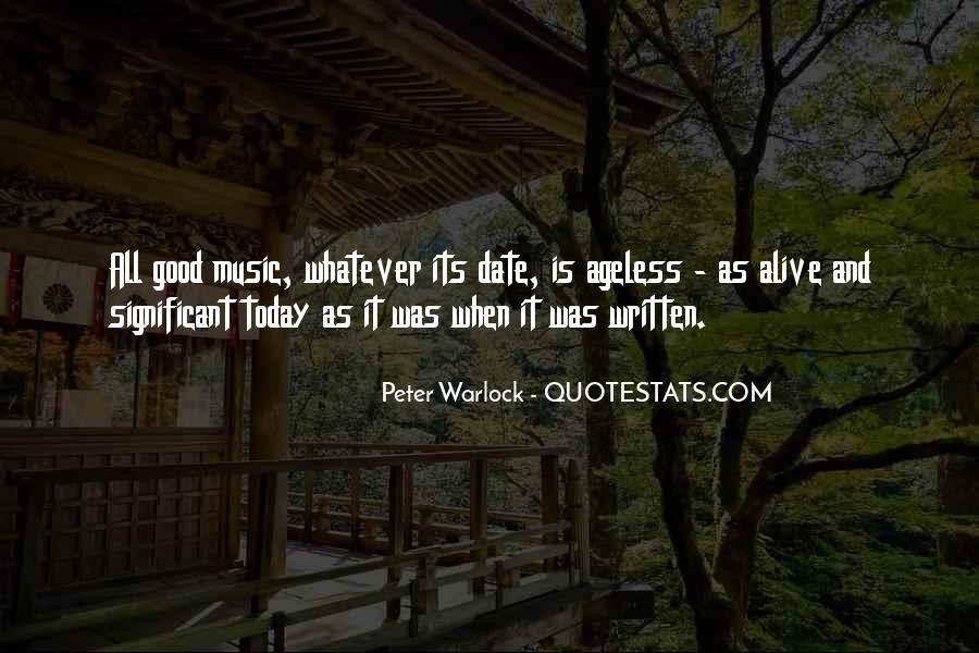 Peter Warlock Quotes #389830