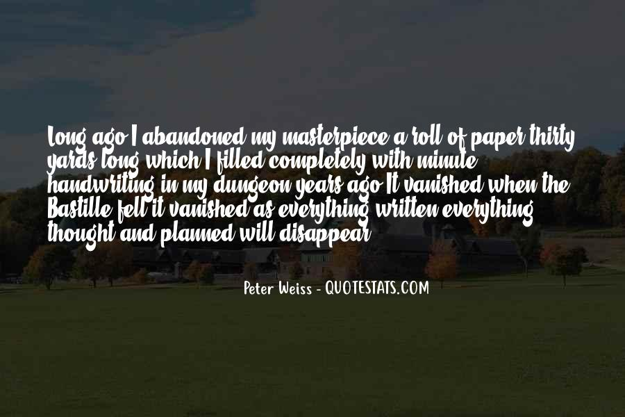 Peter Weiss Quotes #473482