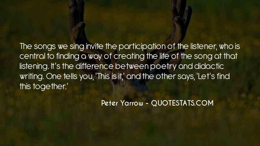 Peter Yarrow Quotes #1774864
