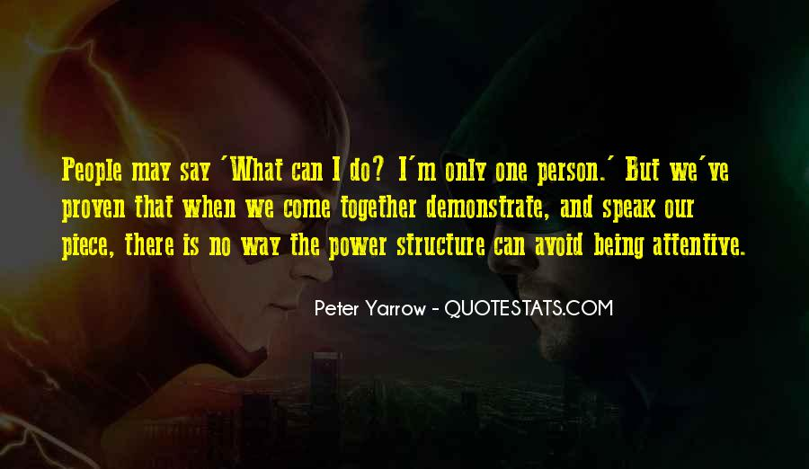 Peter Yarrow Quotes #295581
