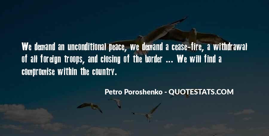 Petro Poroshenko Quotes #1788228
