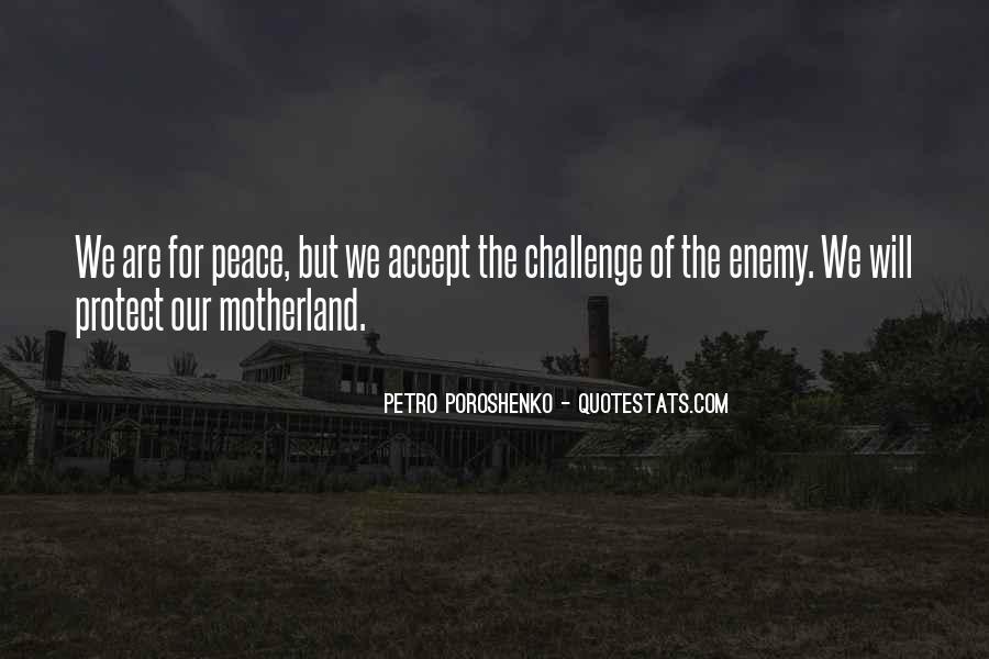 Petro Poroshenko Quotes #445914