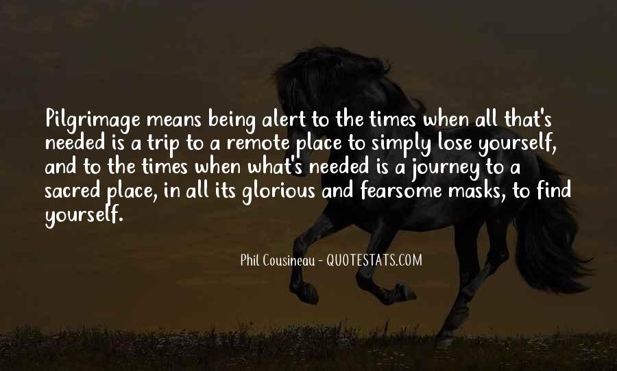 Phil Cousineau Quotes #1814114