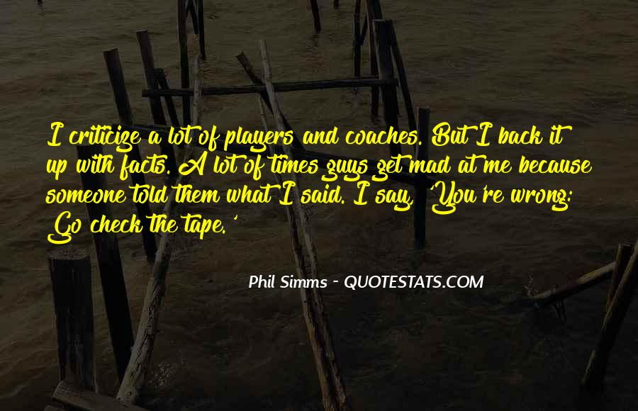 Phil Simms Quotes #1683739