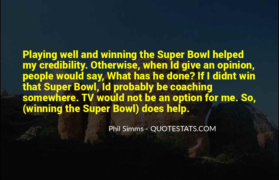 Phil Simms Quotes #261711