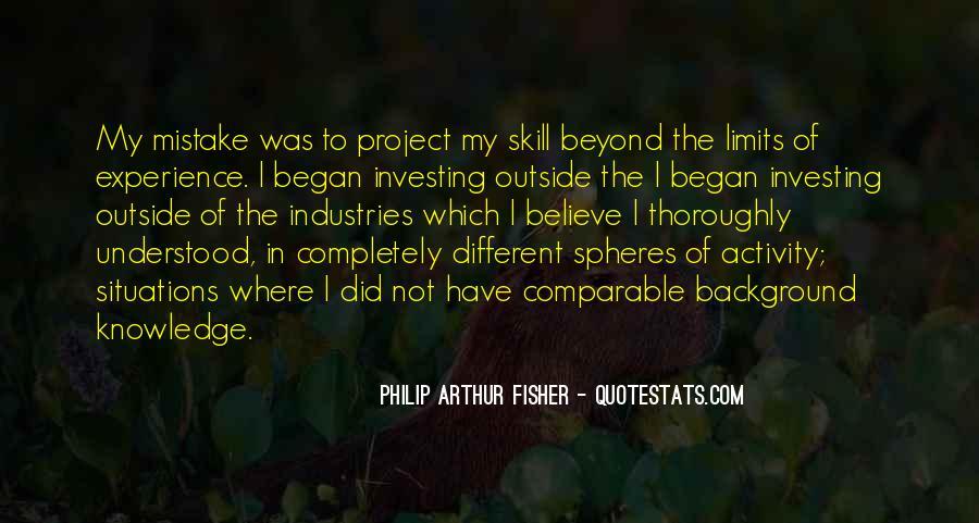 Philip Arthur Fisher Quotes #405261