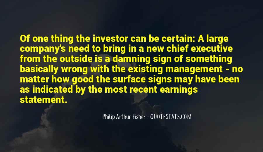 Philip Arthur Fisher Quotes #465479