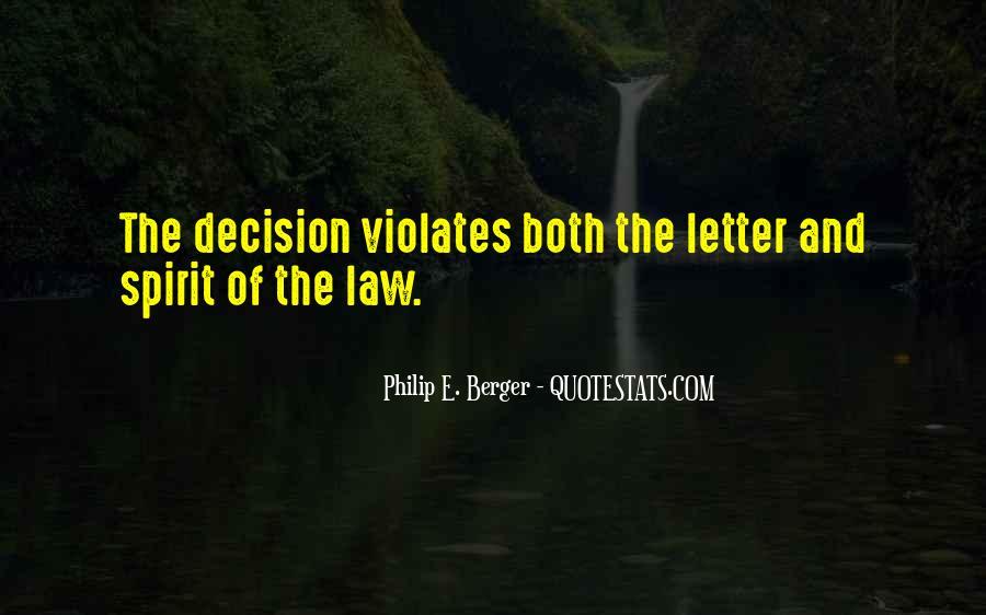 Philip E. Berger Quotes #1155542