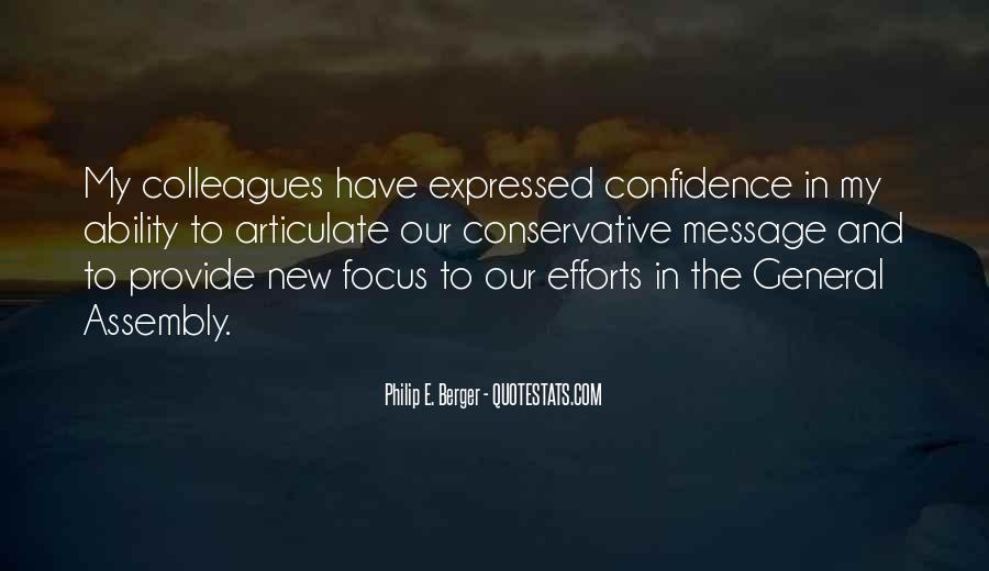 Philip E. Berger Quotes #225915