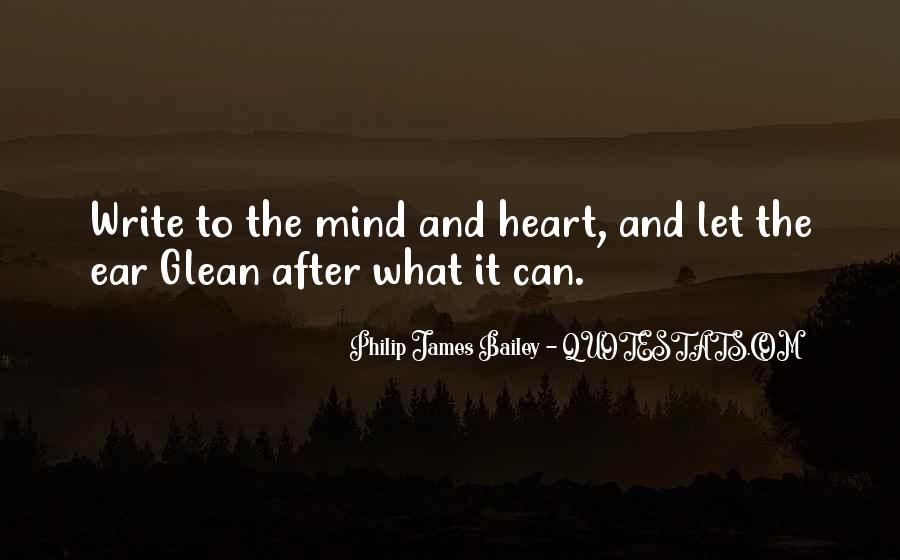 Philip James Bailey Quotes #439280