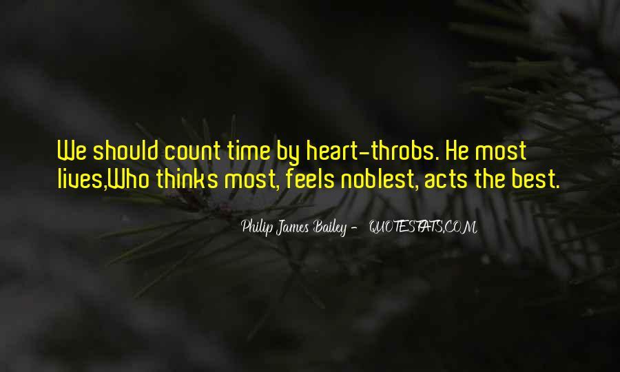 Philip James Bailey Quotes #524405