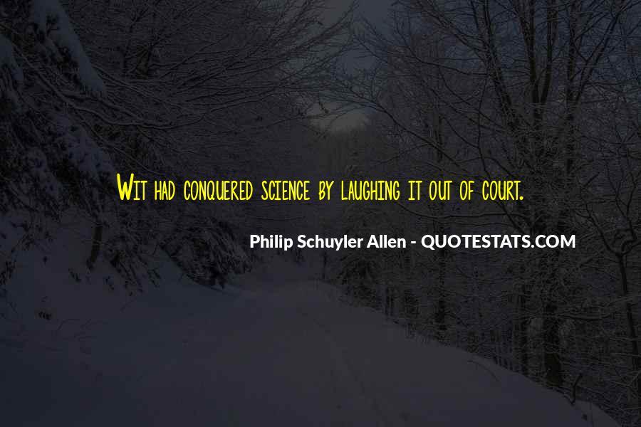 Philip Schuyler Allen Quotes #554781