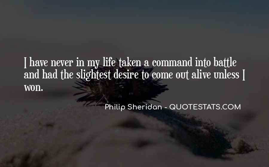 Philip Sheridan Quotes #1263372