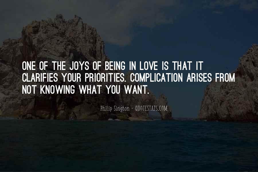 Philip Sington Quotes #307996