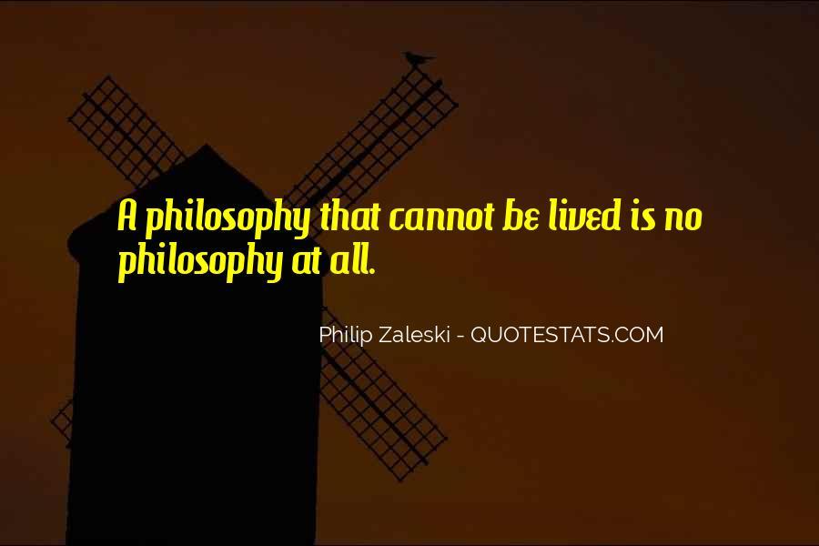 Philip Zaleski Quotes #114225