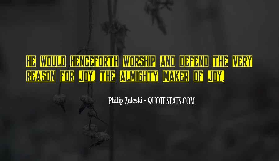Philip Zaleski Quotes #1674911