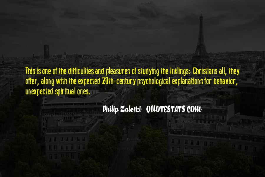Philip Zaleski Quotes #185531