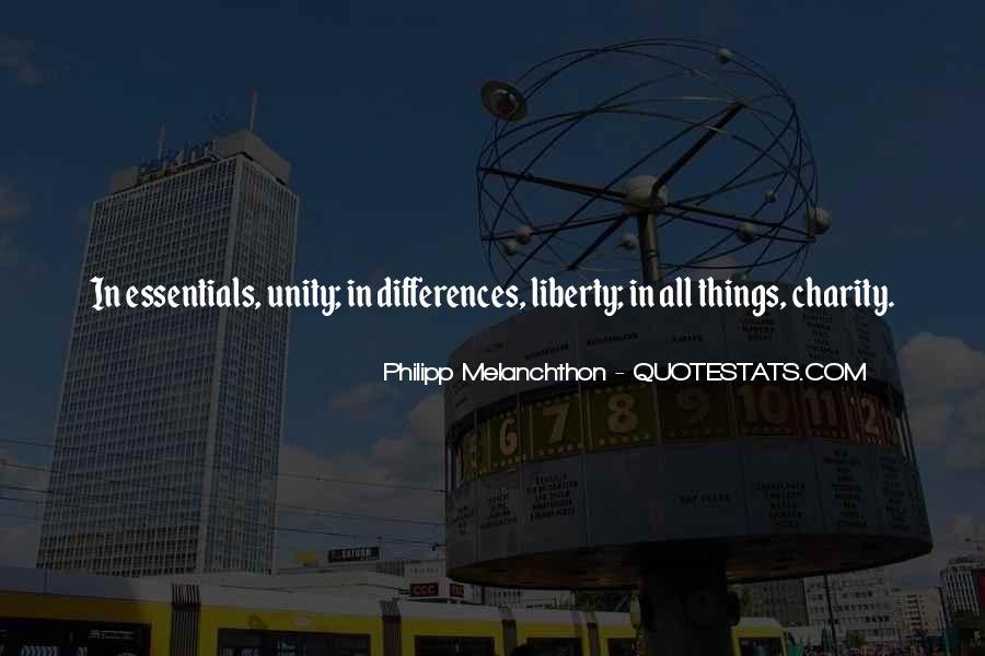 Philipp Melanchthon Quotes #98484