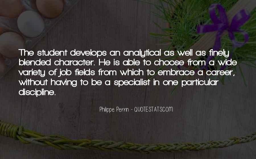 Philippe Perrin Quotes #232287