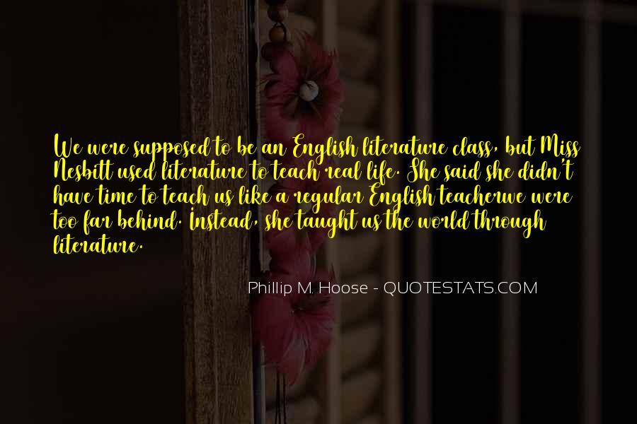 Phillip M. Hoose Quotes #1728153