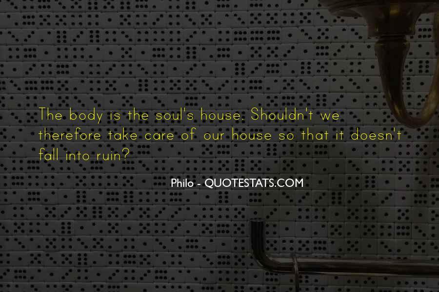 Philo Quotes #805529