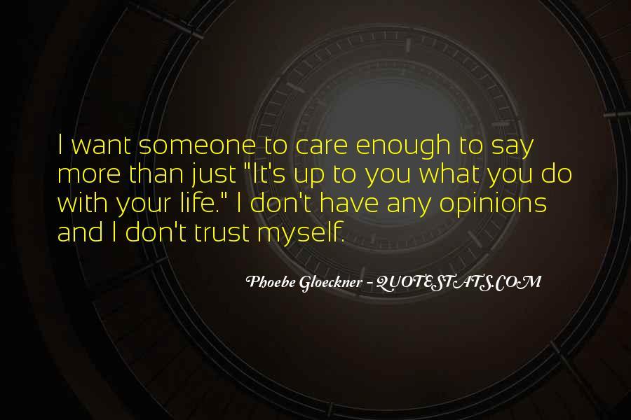 Phoebe Gloeckner Quotes #895494