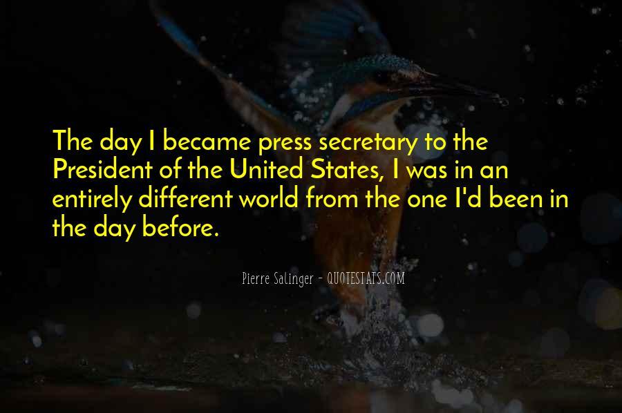 Pierre Salinger Quotes #915619