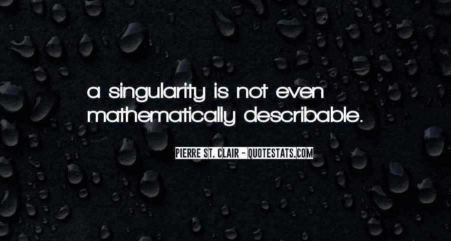 Pierre St. Clair Quotes #141881