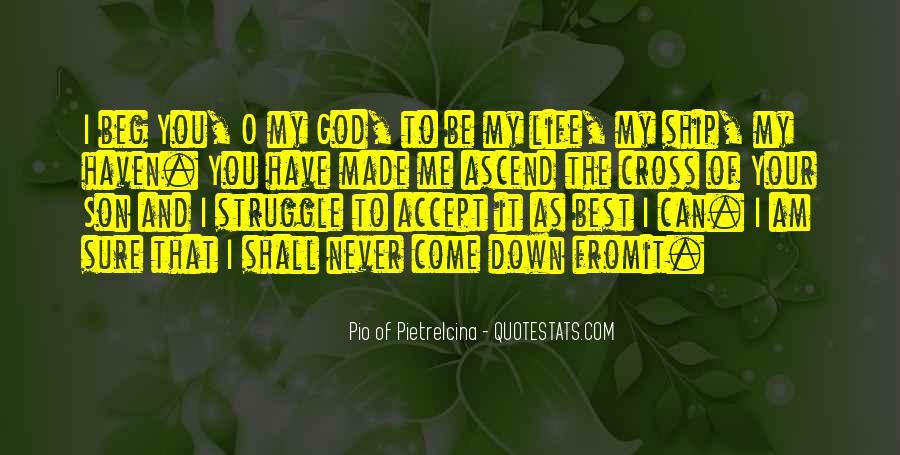 Pio Of Pietrelcina Quotes #165129