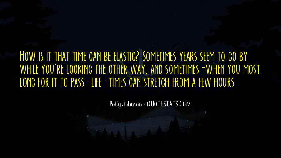 Polly Johnson Quotes #114368