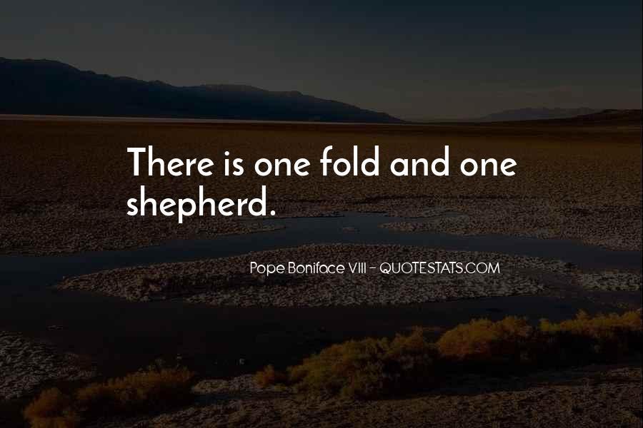 Pope Boniface VIII Quotes #1428845