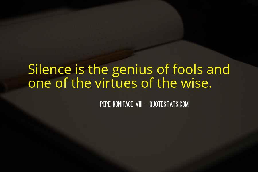 Pope Boniface VIII Quotes #582870