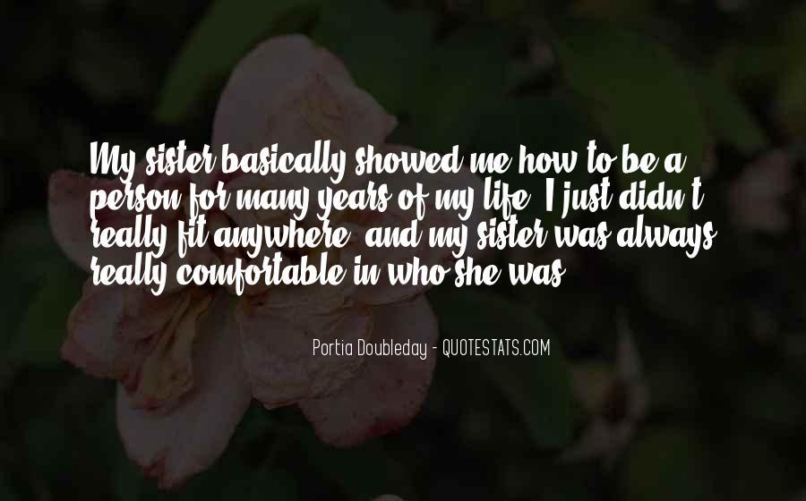 Portia Doubleday Quotes #1201602