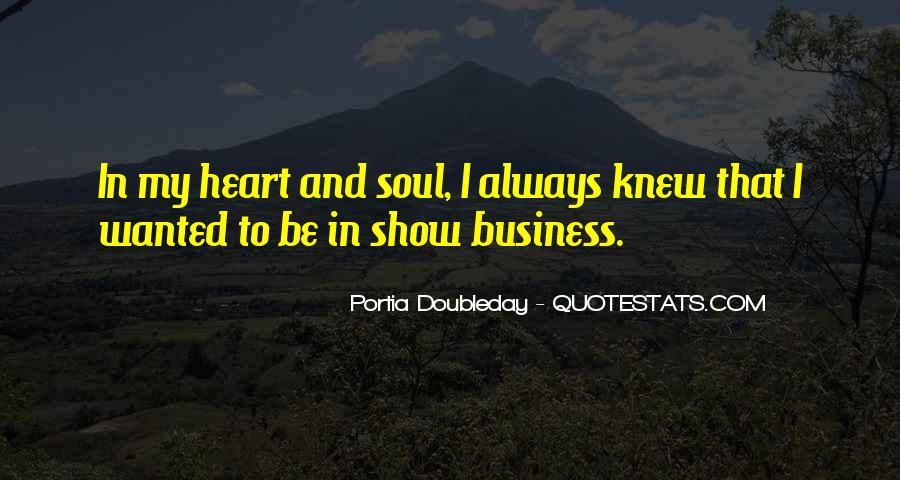 Portia Doubleday Quotes #1386067