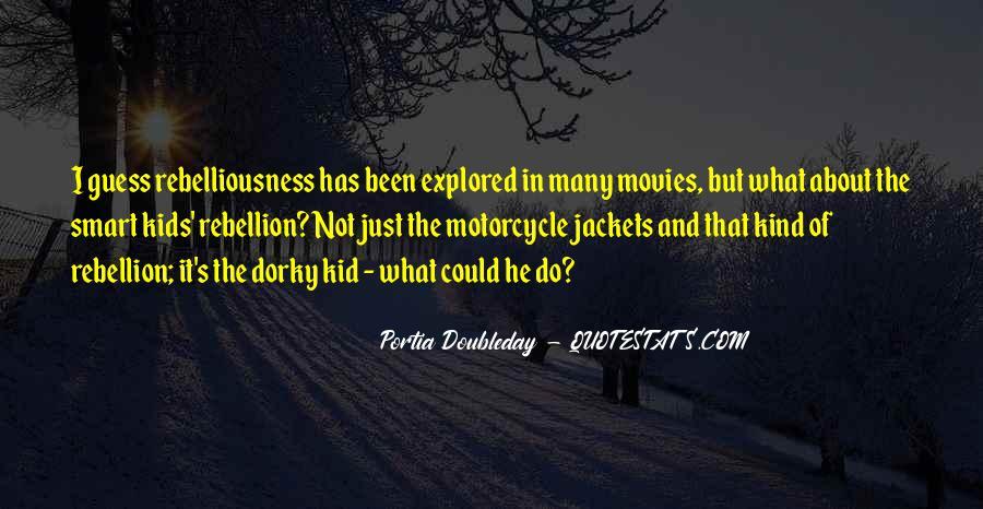Portia Doubleday Quotes #1709099