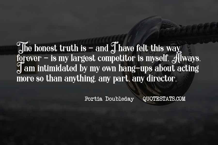 Portia Doubleday Quotes #1729052