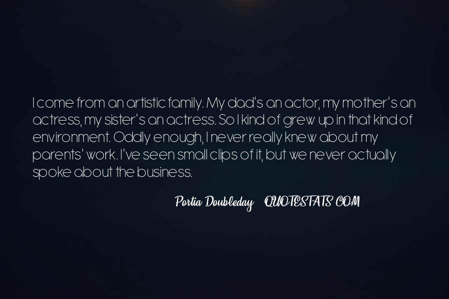 Portia Doubleday Quotes #763220